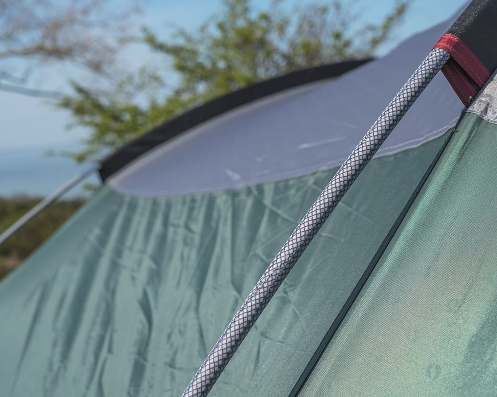 Здрави Duratec фиброво стъкло петместна палатка Outwell Earth 5