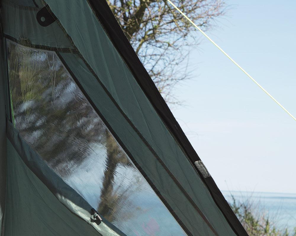 Светлоотразителни шнурове с обтегачи петместна палатка Outwell Earth 5