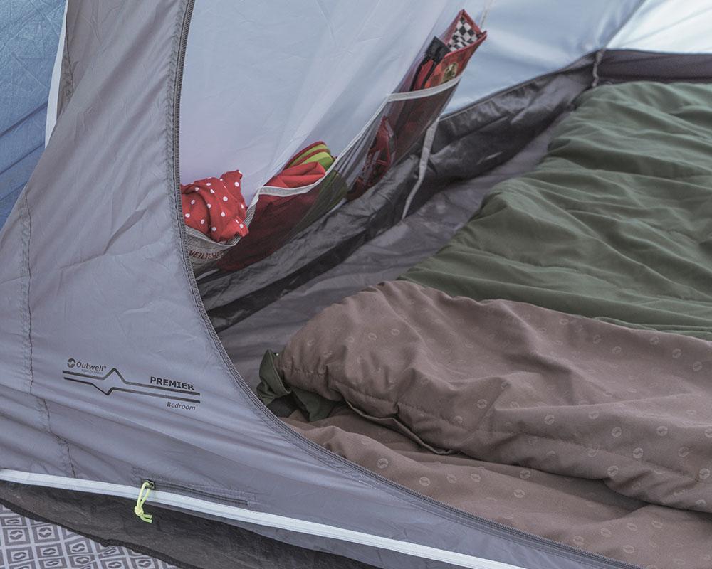 Premier Bedrooms четириместна палатка Outwell Nevada 4