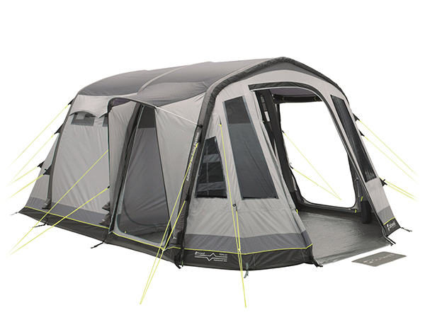 Четириместна надуваема палатка Outwell Nighthawk 4SA модел 2018