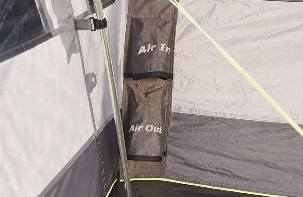 Вентили за надуване Надуваема палатка Outwell Nighthawk 4SA модел 2018