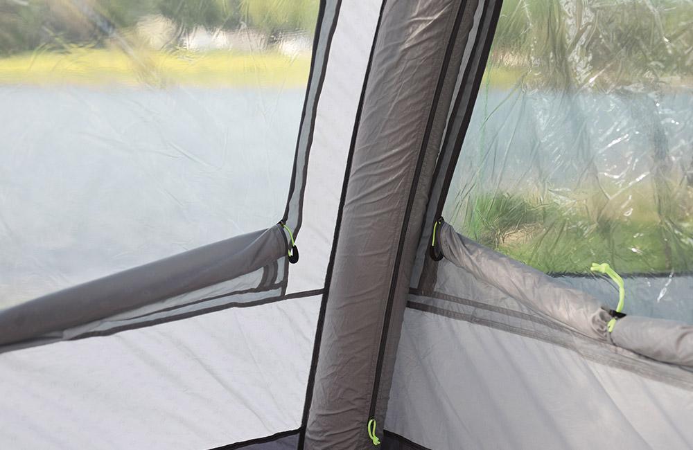 Панорамни затъмнени прозорци с покривала Надуваема палатка Outwell Nighthawk 4SA модел 2018