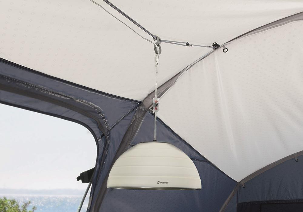 Панорамни затъмнени прозорци с покривала палатка Outwell Nevada 5P