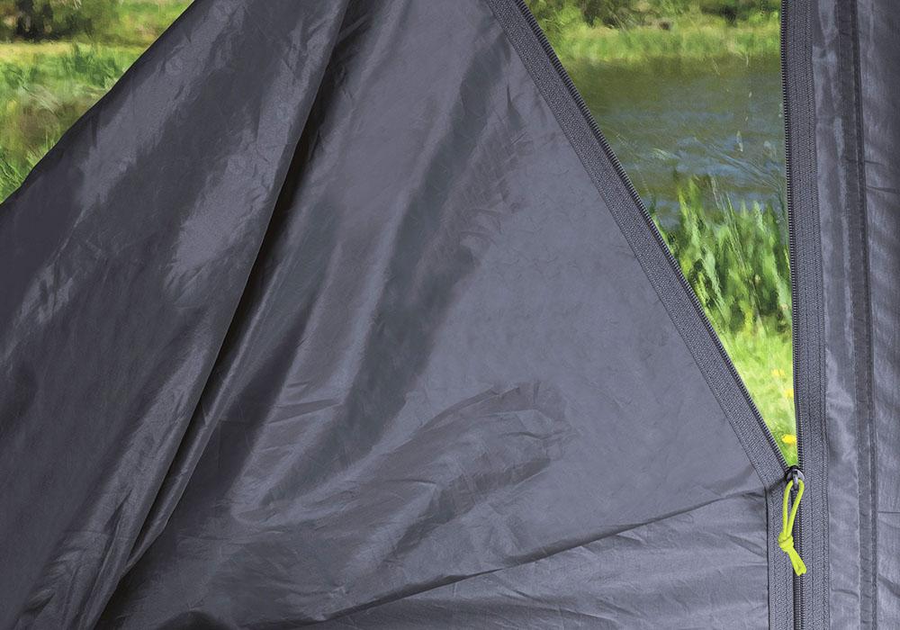 Голям комарник на входа петместна палатка за къмпинг Outwell Nevada 5P модел 2019