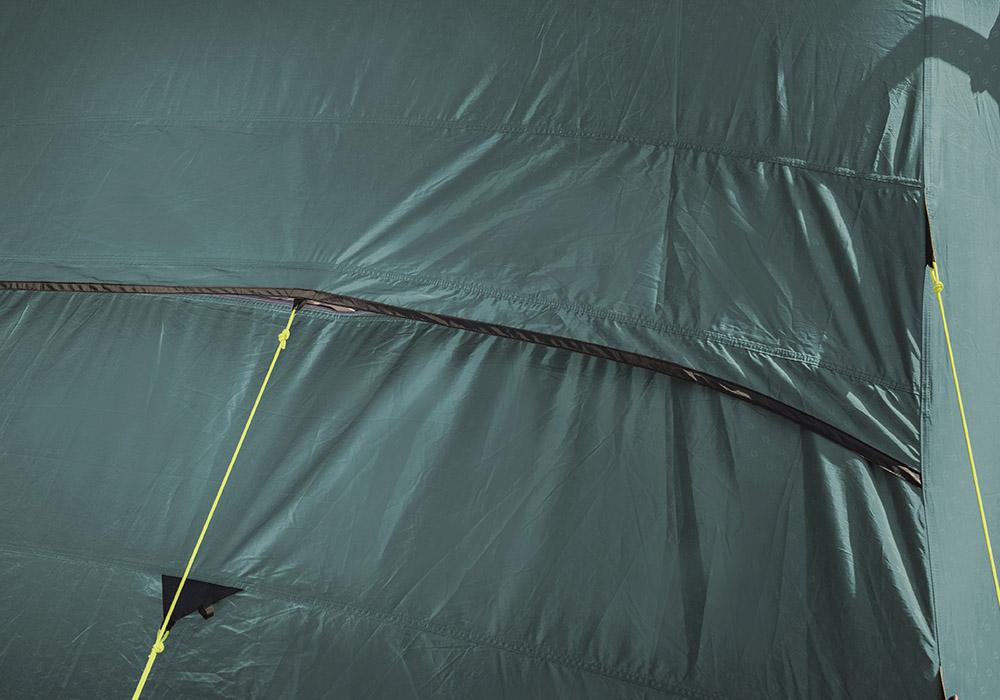 Вентилация отзад на четириместна надуваема палатка Outwell Rosedale 4PA 2020