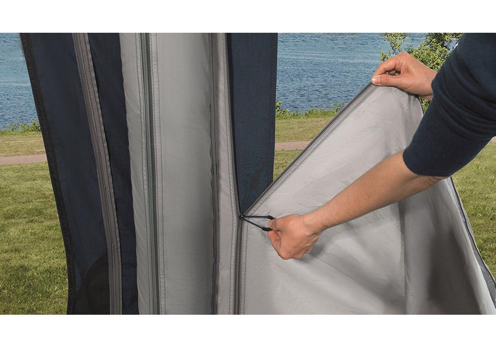 Покривала с ципове петместна надуваема палатка Outwell Hayward Lake 5ATC 2021