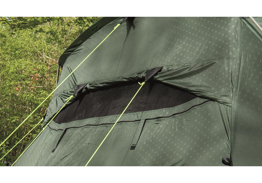 Вентилация на четириместна палатка Outwell Springwood 4 2021