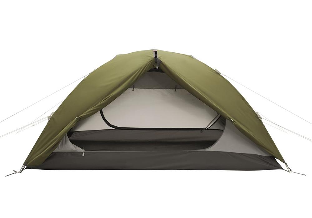 Един вход отворен на палатка Robens Lodge 2 2021