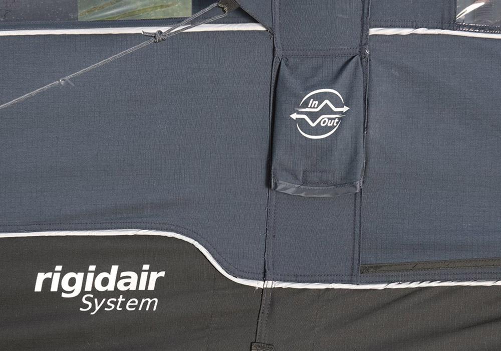 Вентил за напомпване петместна надуваема палатка Outwell Rock Lake 5ATC