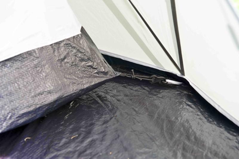 кука за опъване на палатка