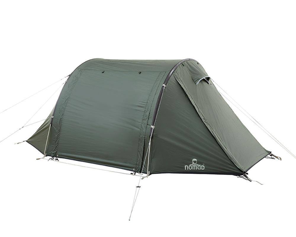 Спуснати ципове на двуместна палатка Nomad Sunset View 2 Moss