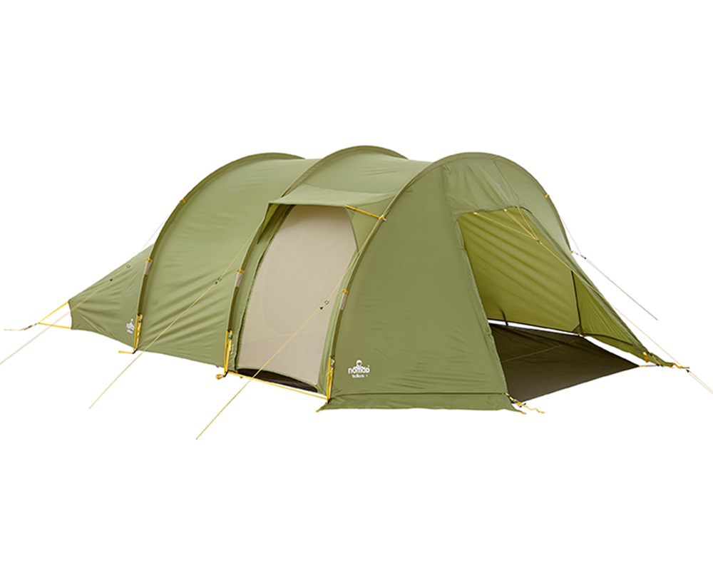 Комарник на страничен вход на четириместна палатка Nomad Tellem 4 Calliste Green