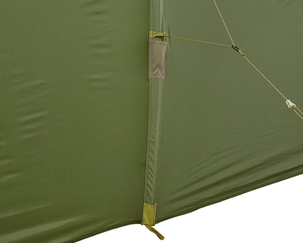 Ръкави за рейки и плат на четириместна палатка Nomad Tellem 4 Calliste Green