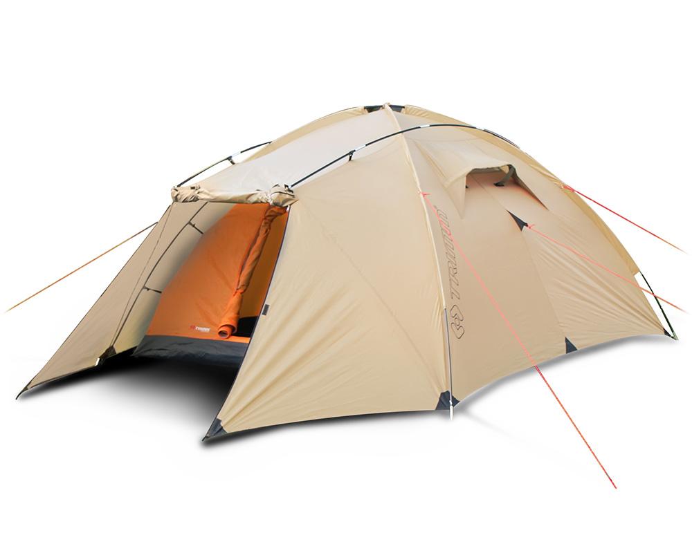 Солидна четириместна палатка за къмпинг Trimm Tornado модел 2018