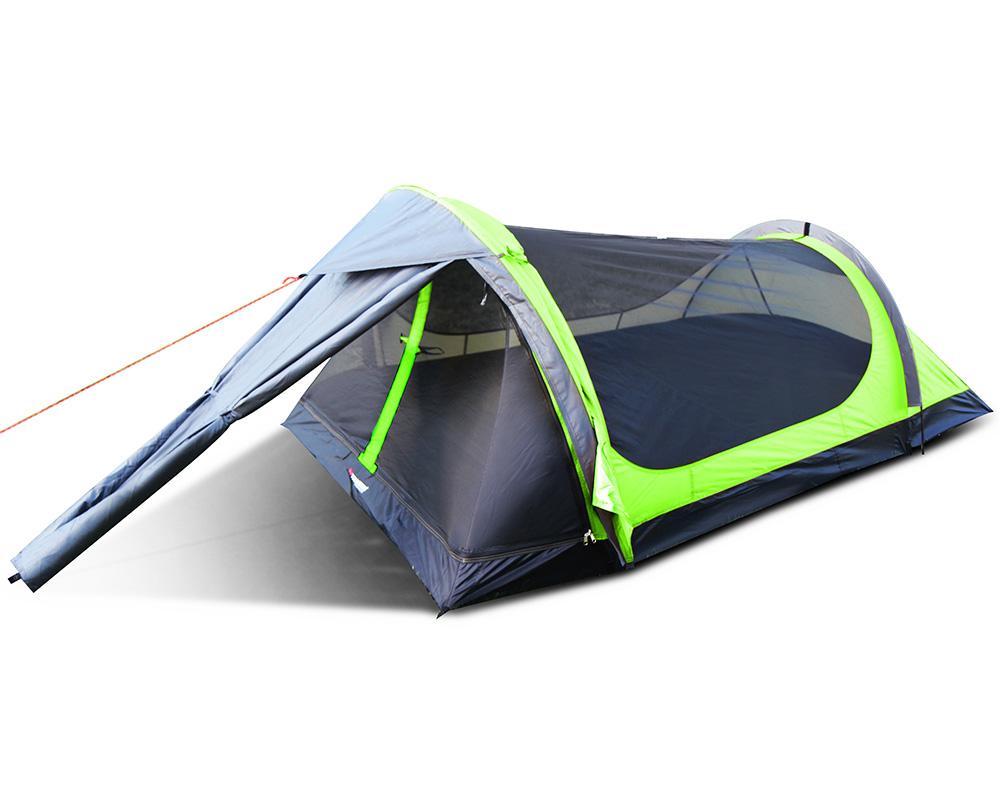 Ултралека трекинг палатка Trimm Spark-D комарник на покрива и входа