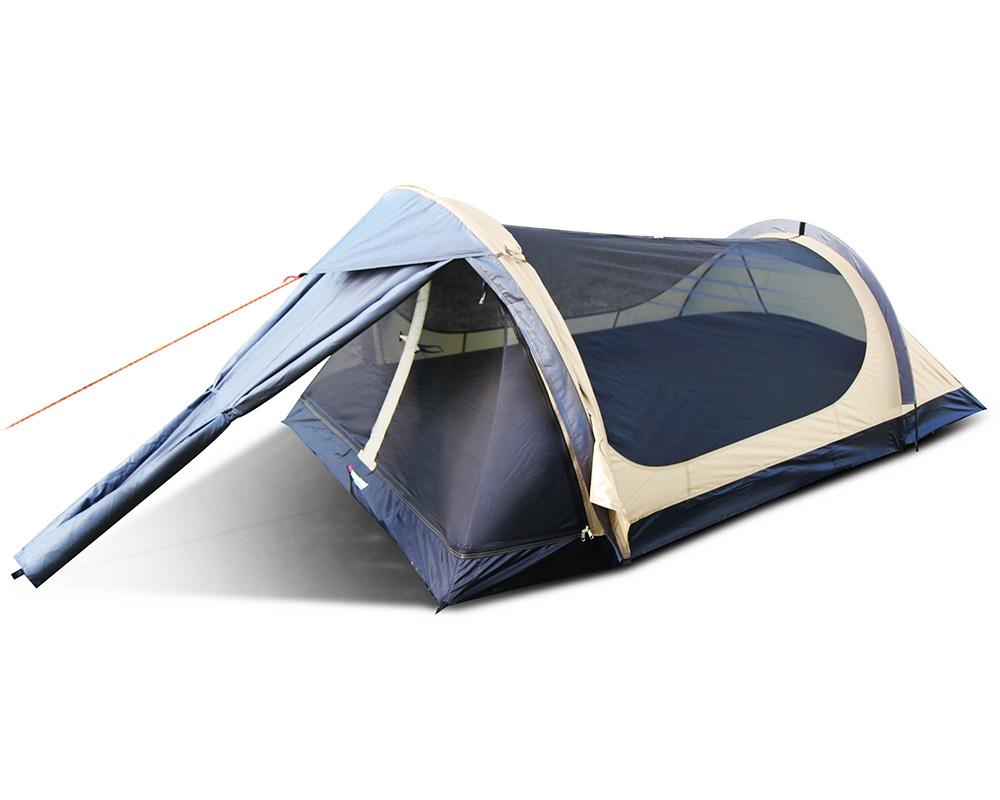 Комарници на покрива и входовете двуместна трекинг палатка Trimm Spark