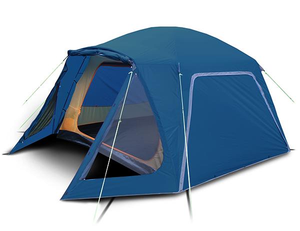 Четириместна палатка-шатра Trimm Macao Dark Lagoon 2020