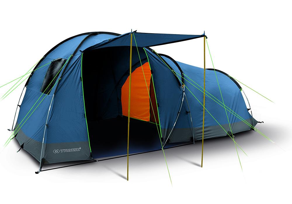 Четириместна палатка Trimm Arizona II Dark Lagoon 2021
