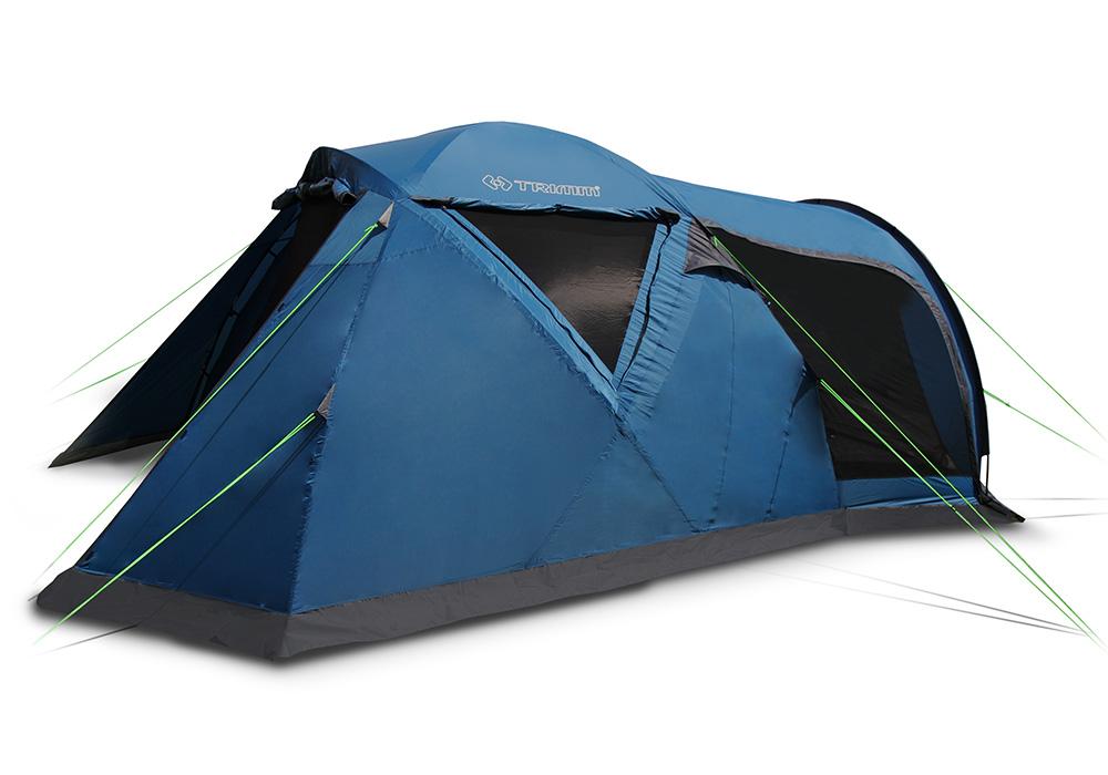 Петместна палатка Trimm Monzun Dark Lagoon 2021