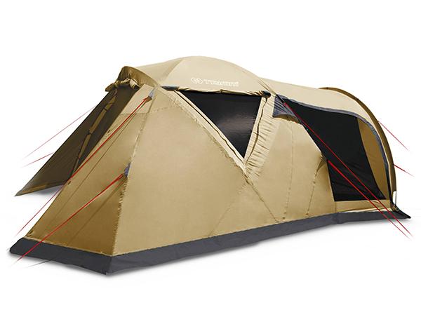 Петместна палатка Trimm Monzun Sand