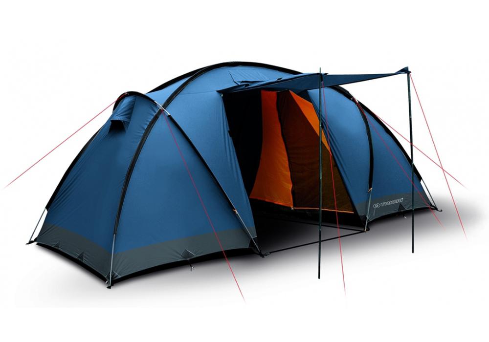 Четириместна палатка Trimm Comfort II Dark Lagoon 2021