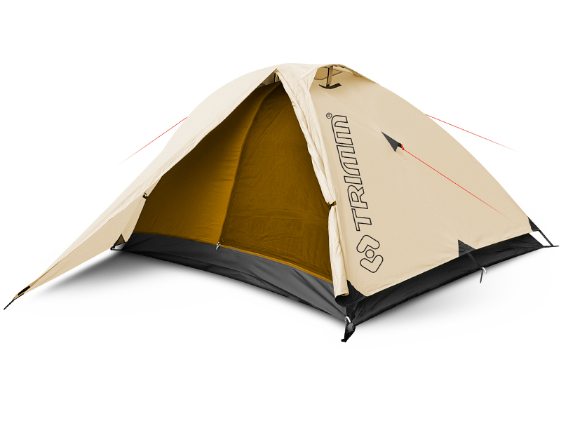 Двуместна туристическа палатка Trimm Compact 2018