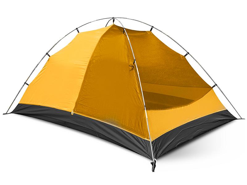 Спално помещение на двуместна туристическа палатка Trimm Compact 2018
