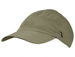 Jack Wolfskin Supplex Canyon Sun Cap Khaki