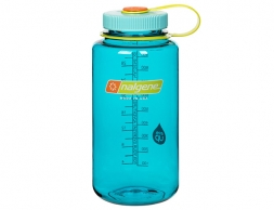 Бутилка за вода Nalgene Everyday Wide Mouth 1L Cerulean