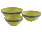 Outwell Collaps Bowl Set Lime Green 2021