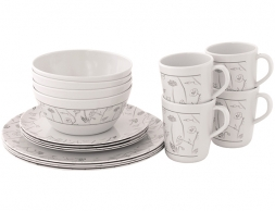 Outwell Dahlia 4 Person Dinner Set 2021
