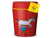 Детски термос за храна Primus TrailBreak Lunch jug 0.4L Pippi Red 2020