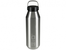 360 Degrees Vacuum Narrow Mouth Stainless Bottle 0.75L SIlver 2020