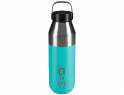 360 Degrees Vacuum Narrow Mouth Stainless Bottle 0.75L Turquoise