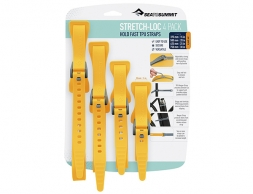 Sea to Summit Stretch-Loc All Sizes Set 20mm 4 Pack Yellow 2021