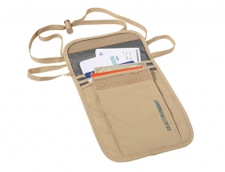 Sea to Summit Travelling Light Neck Wallet Sand