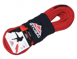 Динамично въже за катерене STUBAI FIRE 9.9 мм. 50 м. Dynamicrope Red