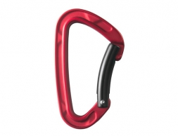 STUBAI Rock Clip 2.0 Bent Gate Carabiner Red
