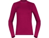 Дамска термо блуза Bergans Akeleie Lady Shirt Beet Red/Raspberry