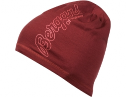Шапка от мерино вълна Bergans Bloom Wool Beanie Bordeaux Lounge