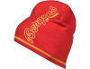 Шапка от мерино вълна Bergans Bloom Wool Beanie Fire Red/Waxed Yellow