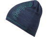 Шапка от мерино вълна Bergans Bloom Wool Beanie Navy Melange Alpine