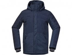 Мъжко пухено яке Bergans Brager Down Ins Jacket Night Blue