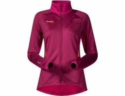 Дамско поларено яке Bergans Galdebergtind Lady Jacket Dusty Cerise