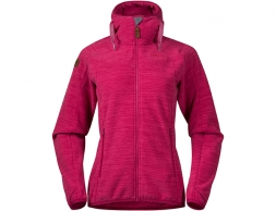 Bergans Hareid Fleece W Jacket Bougainvillea Mel