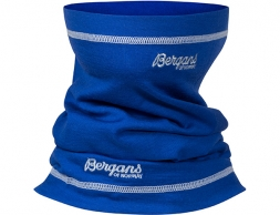 Шал от мерино вълна Bergans Fjellrapp Neck Warmer Dk RoyalBlue/Sea Foam