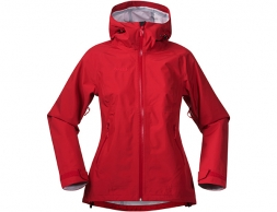 Дамско хардшел яке Bergans Ramberg Lady Red Strawberry