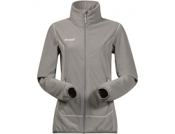 Дамско поларено яке Bergans Ylvingen Lady Jacket Solid Grey