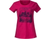 Bergans Mountain View W Tee Bougainvillea 2019