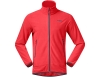 Мъжко поларено яке Bergans Lovund Fleece Fire Red Solid Dark Grey
